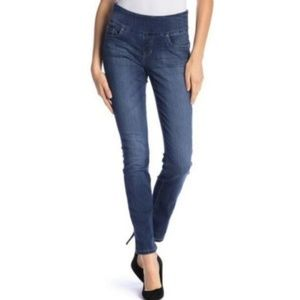 Jag Jeans Penny Pull On High Rise Straight Leg